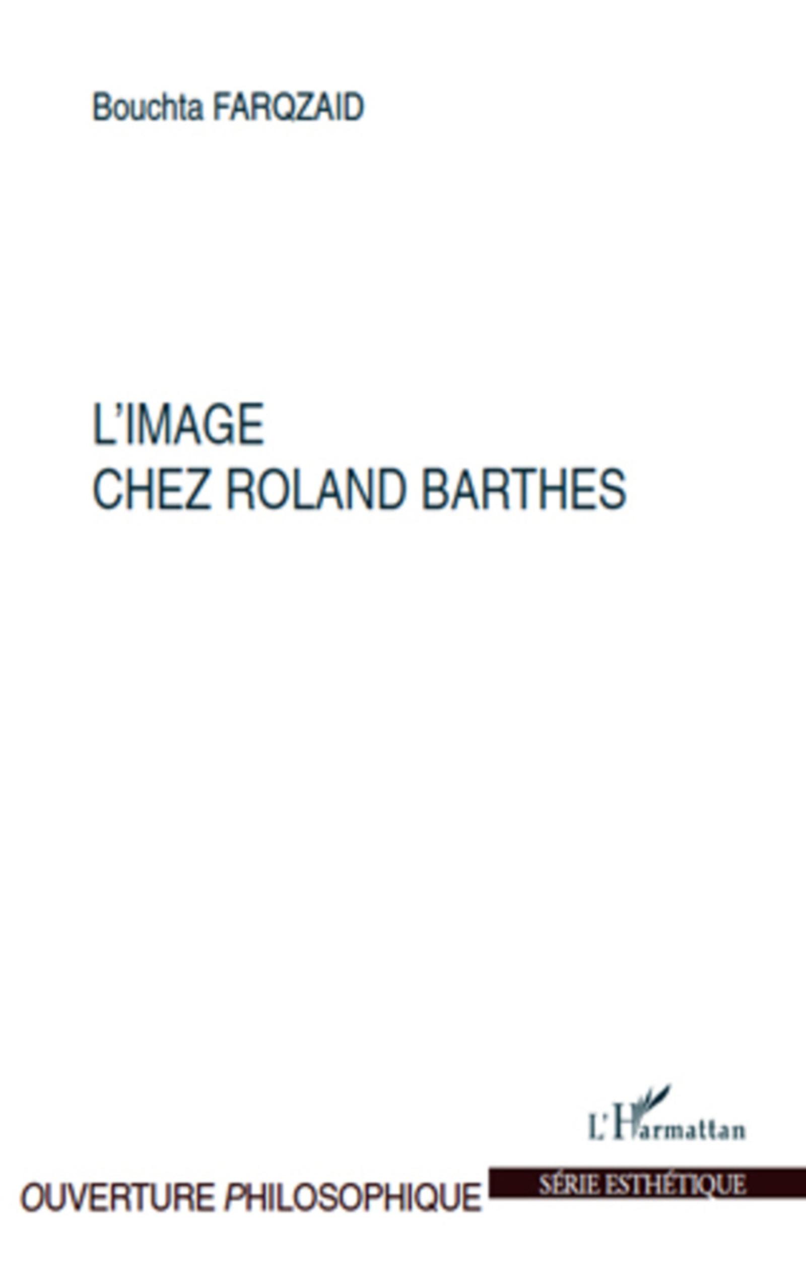 Ebook image chez roland barthes de bouchta farqzaid for Barthes la chambre claire