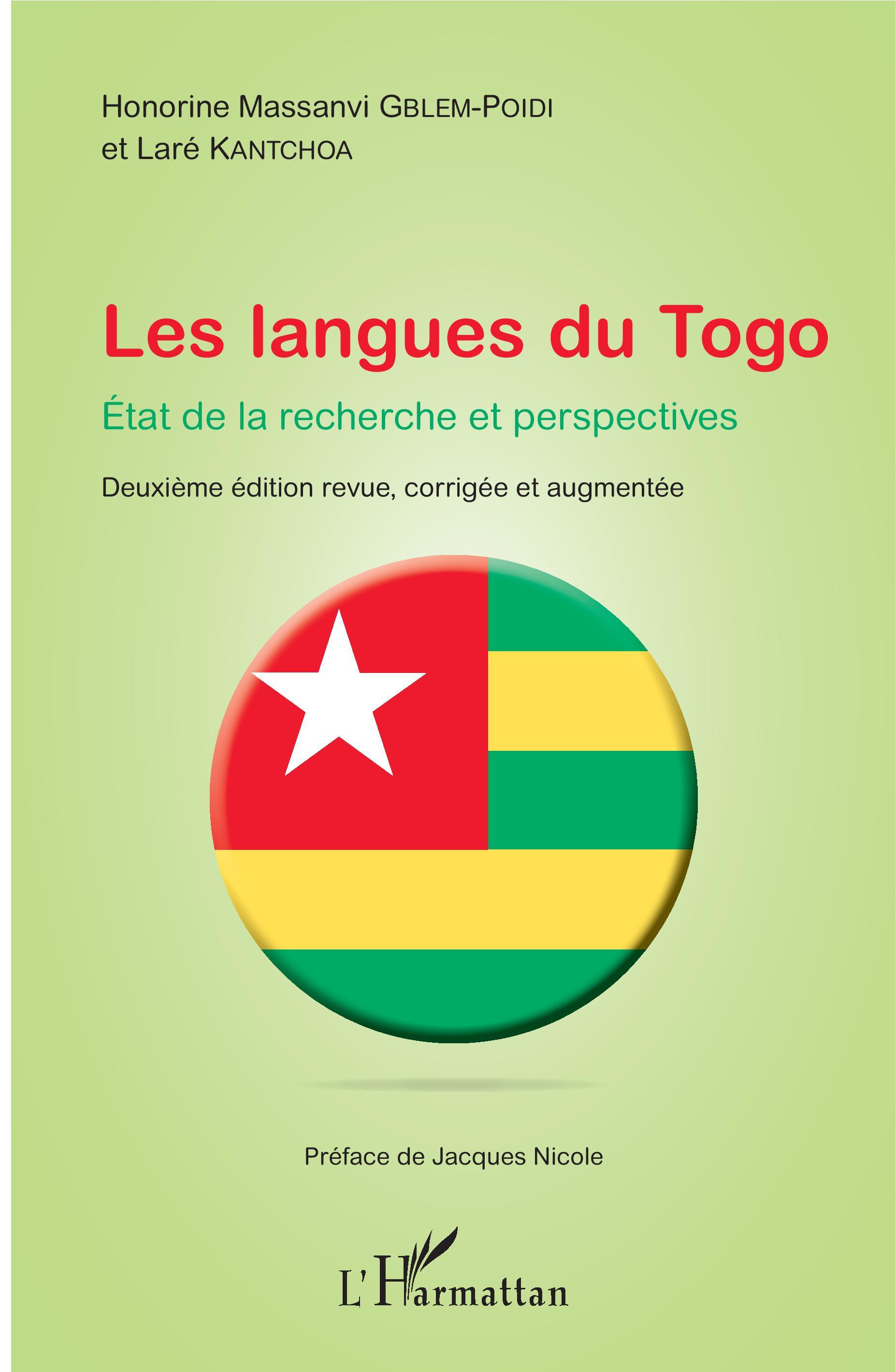 Les langues du Togo. Etat de la recherche et perspectives |